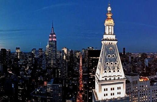 View of Manhattan from a penthousewww.DiscoverLavish.com