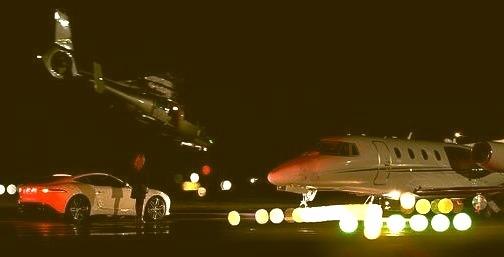 Jaguar and a Jet