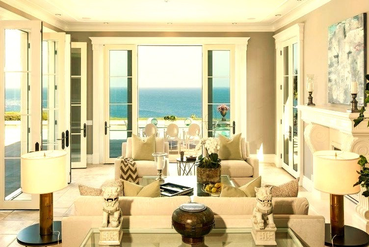 Beautiful View from inside Malibu Beach house