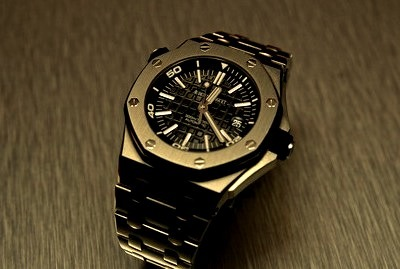 Black Luxury Mens watch