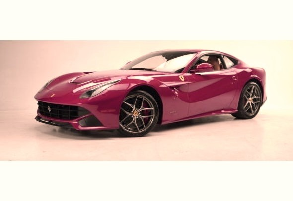 Perfect Red Ferrari