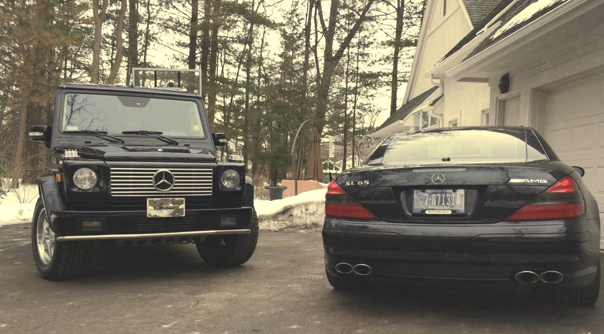 Mercedes G and SL AMG