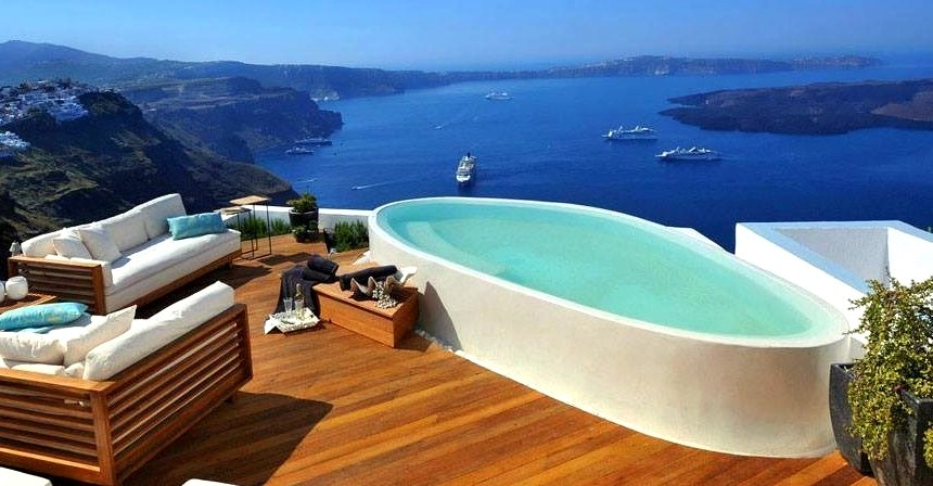 Hot Tub Overlooking Gorgeous Water Views